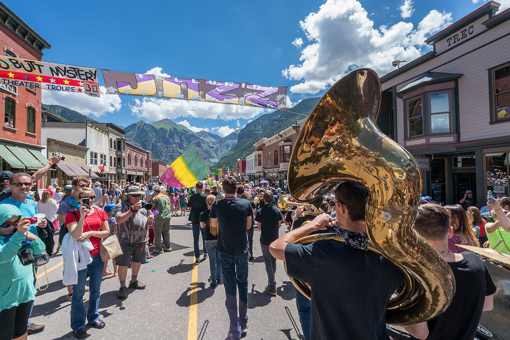 NEW ORLEANS 2ND LINE PARADE | Telluride Jazz Festival