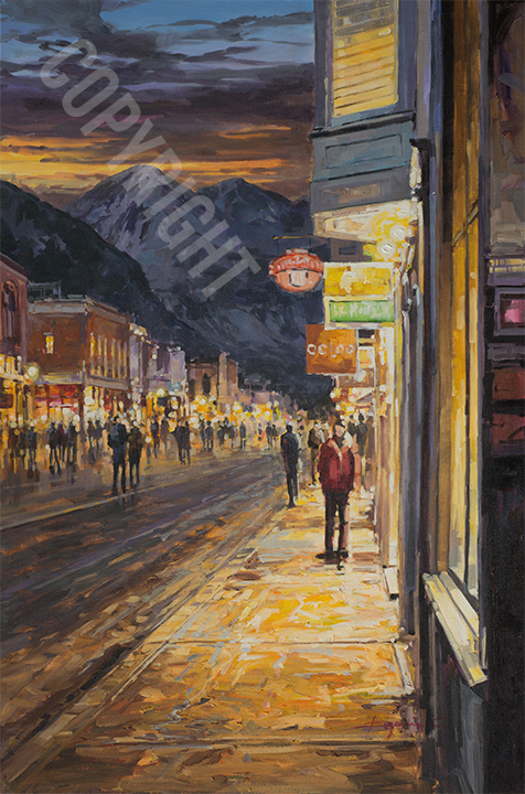 Telluride Jazz Festival - Original Art by Eugenio Cohaila