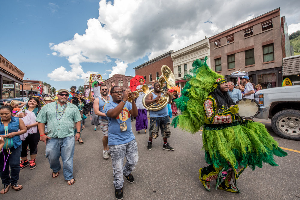 2nd Line Parade Telluride Jazz