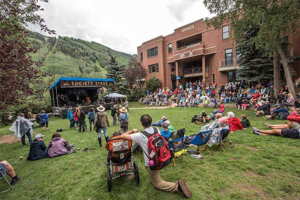 Telluride Jazz Festival | Society Stage