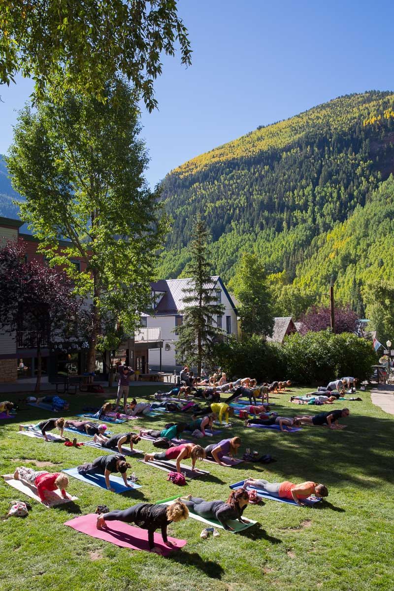 "Telluride Jazz Festival | ""First Note"" Yoga Sessions"