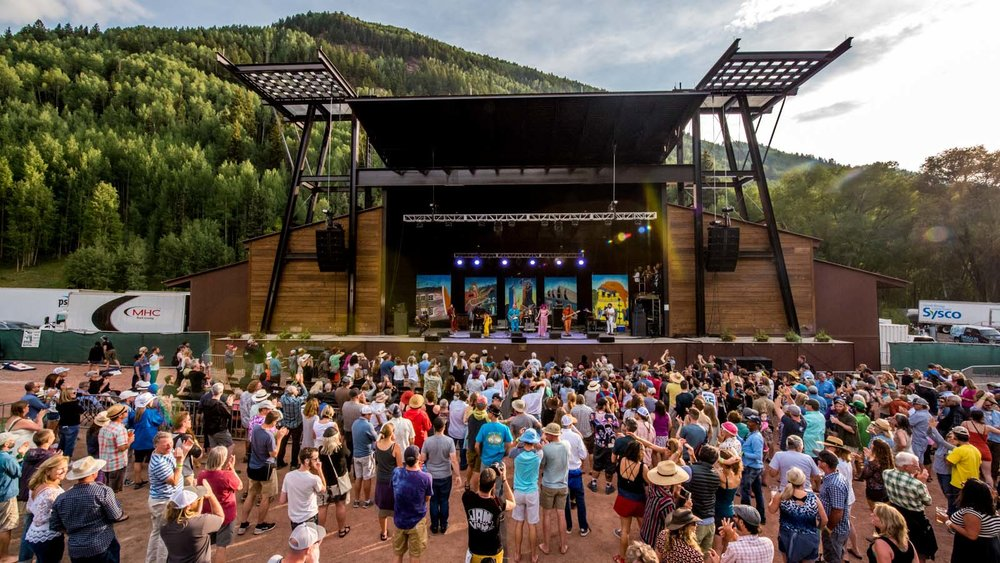 Three days of world-class music on the state-of-the-art Town Park Stage
