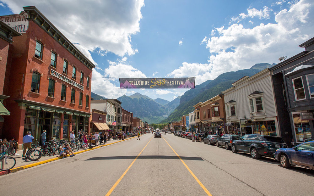 Telluride Jazz Festival - Main Street Downtown