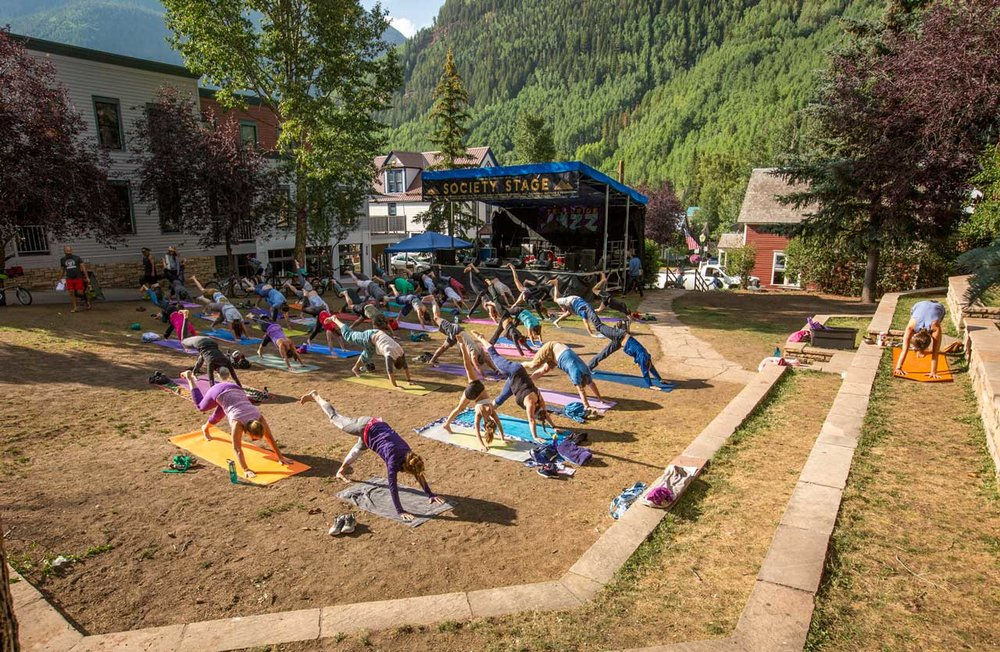 Telluride Jazz Festival | First Note Yoga