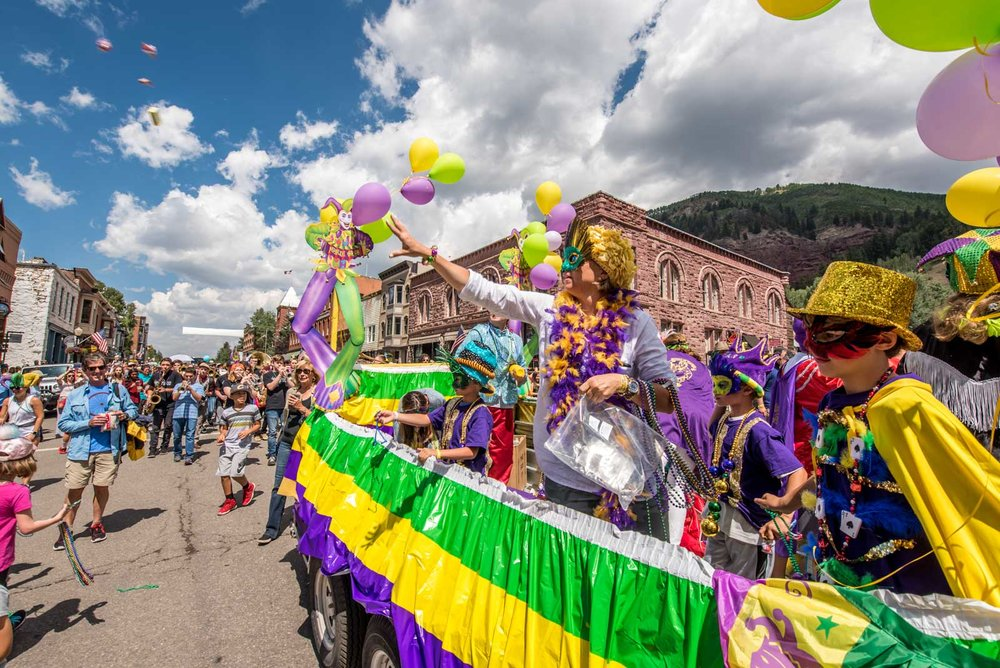 Telluride Jazz Festival | New Orleans 2nd Line Parade
