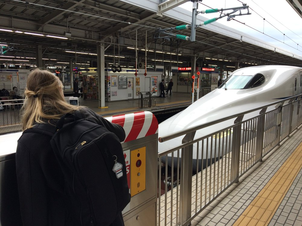 All aboard the Shinkansen