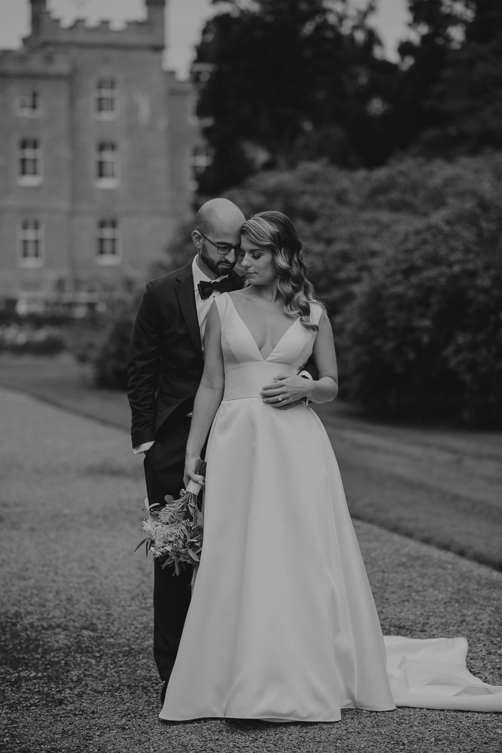 Markree castle wedding photographs -38.jpg