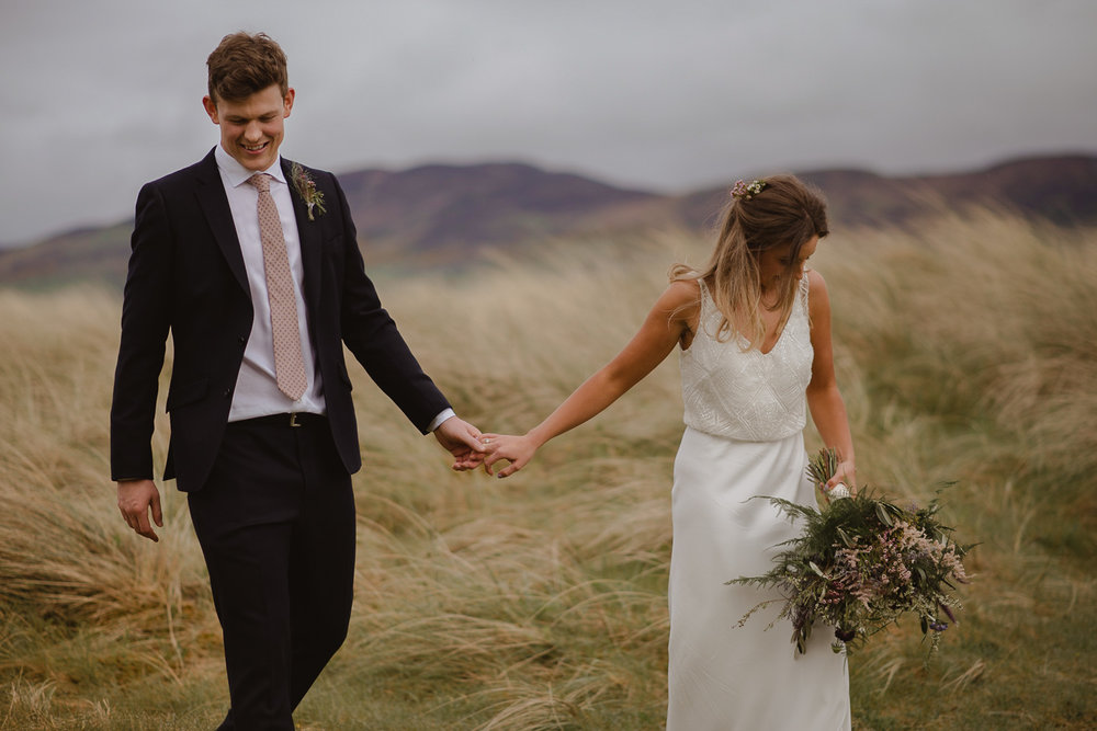 Peter & Ruth - Spring wedding, Donegal, Ireland