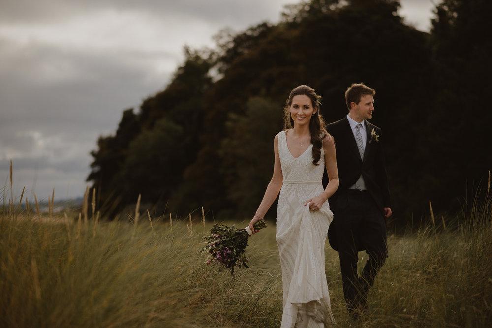Elliott & Gill - Autumn Wedding, Donegal, Ireland