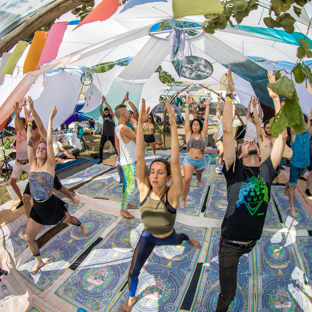 Find Your Flow - Join the fierce women of the BAE Collective in a Connection Circle and empowerment classes, perfect your skills at Belly Dance Classes and Flow Arts Workshops, feel the beat and stretch it out SunSet Flow Yoga and BassYoga. Gain perspective at Cuddle & Consent CozyClass, laugh it off at Improv Comedy Workshops, participate in Being Sound: Meditation workshops.  Unwind with Massage Therapy, Body Work and Reiki Healing.