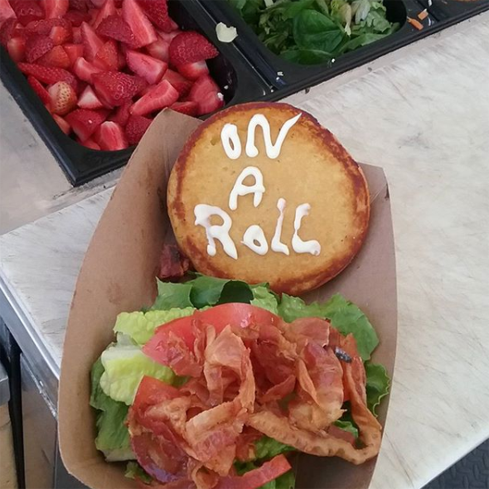 On A Roll - The mission of On A Roll is to provide healthy, great tasting food to our community, at a fair price to cater to all of our patrons. Specializing in artisanal sandwiches, rice bowls, and salads with an international flare.