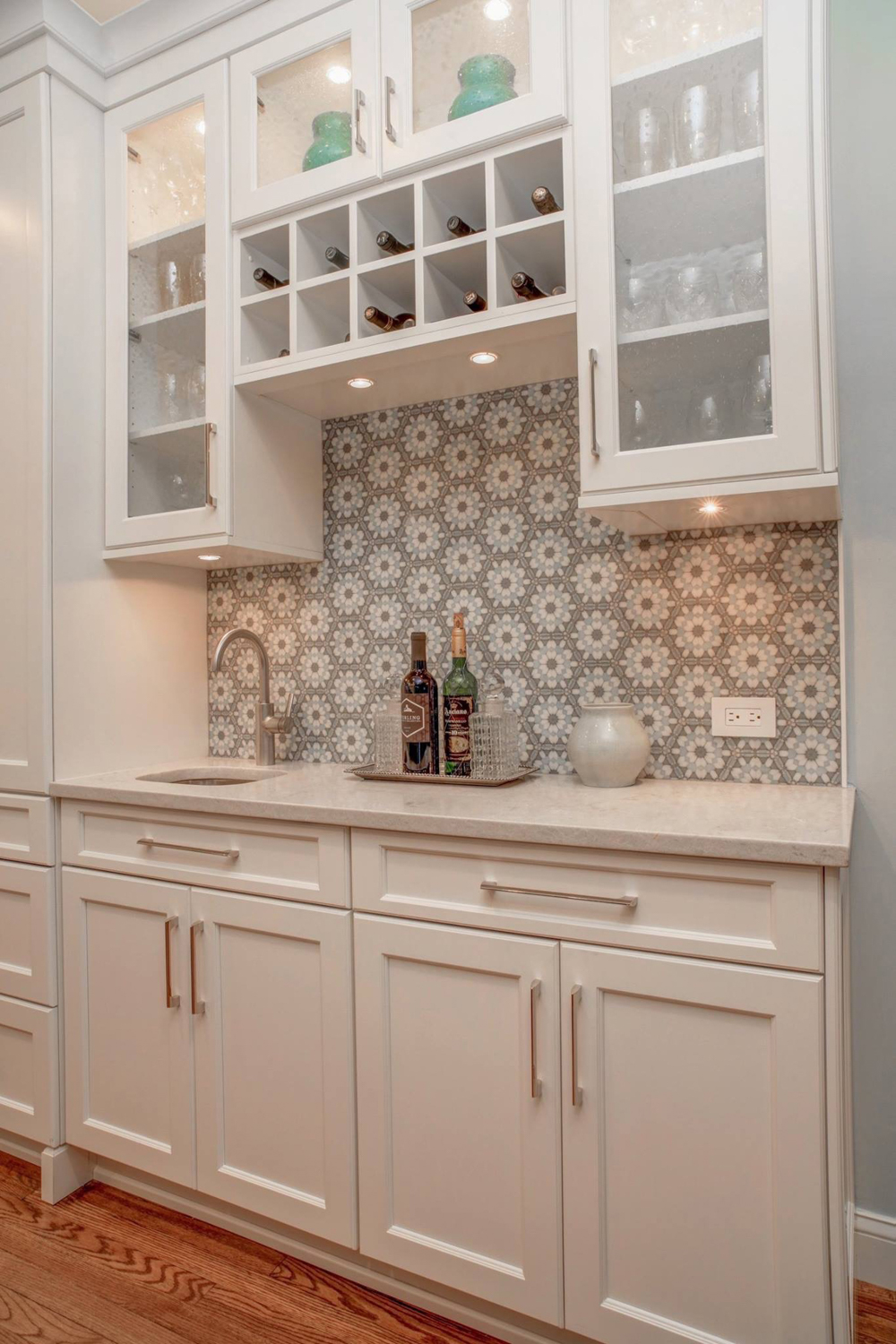 Decorative Tile Backsplash 1
