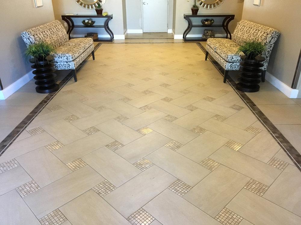 Amazing Porcelain Basket Weave Floor Tile Gallery