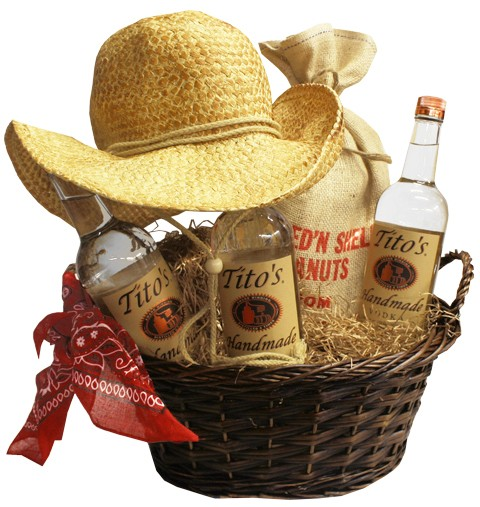 Signed Titos Basket