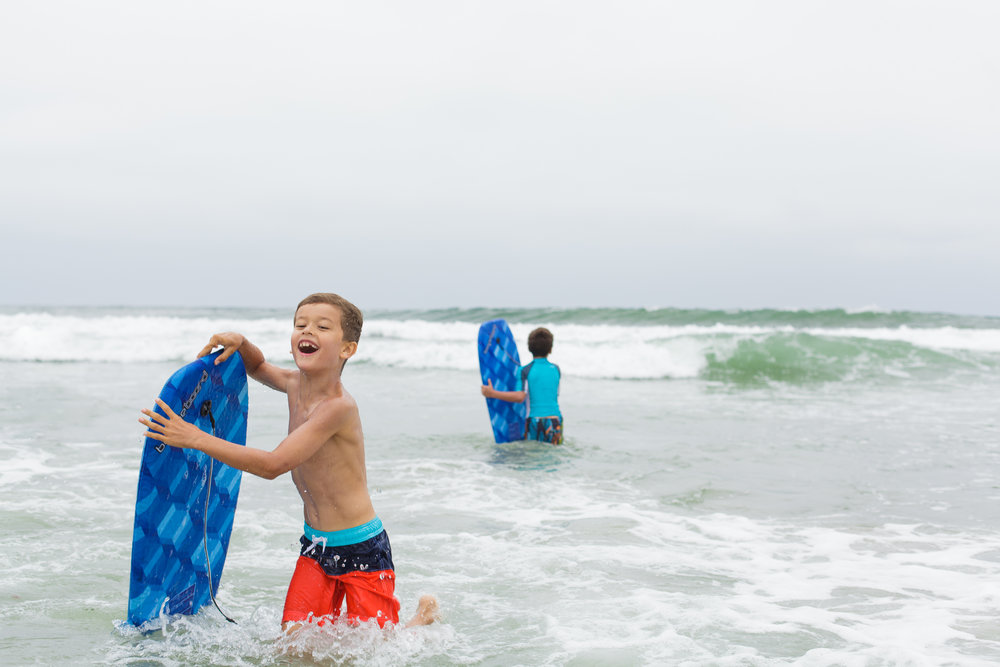 the boogie boards were a huge hit on our trip to San Diego!