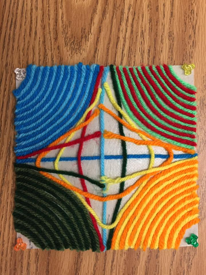 Yarn Art - patterns  (6th grade)