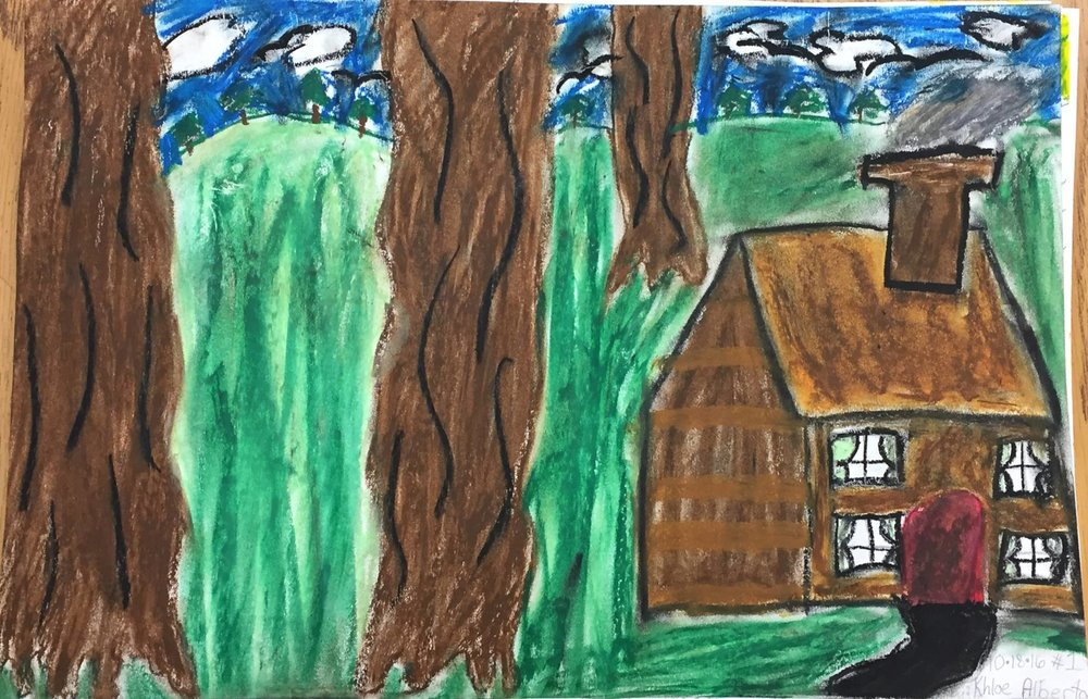 Landscape  - size, proportion  (4th grade)
