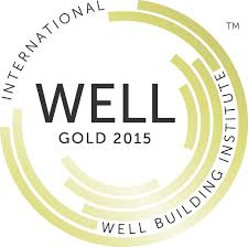 Gold Certificate awarded by the well building standard.