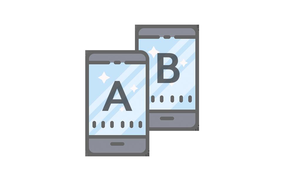 Email A/B testing    Testa olika ämnesrader på en liten testgrupp. Den versionen som får bäst betyg skickas sedan till resten.