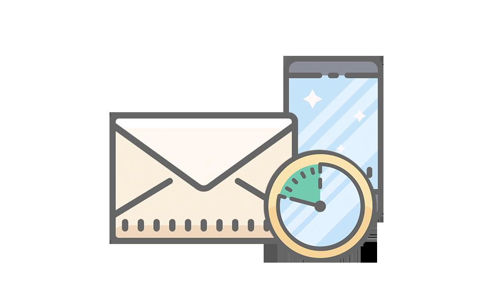 Batch or real time Email & SMS   Skicka till många på en gång eller till individer vid specifika tider. Olika situationer kräver valfrihet.