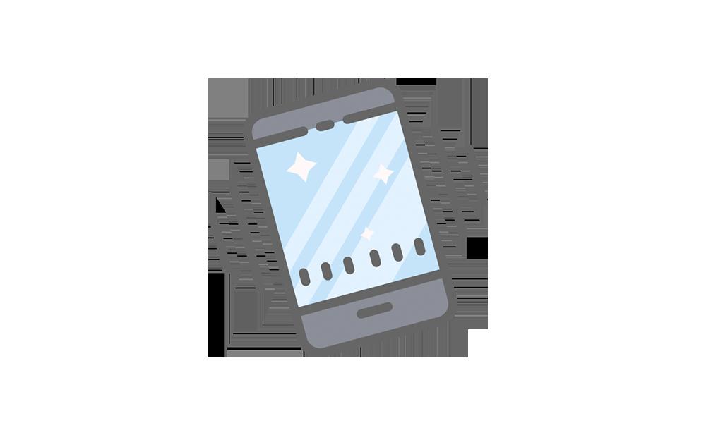 Mobile app   Använd Abalons natvie-mobilapp för att kommunicera med kunderna på ett personligare plan.