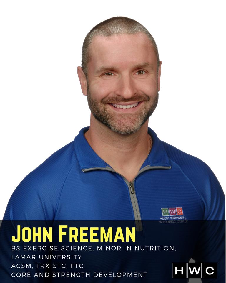 John Freeman, Master Trainer HWC