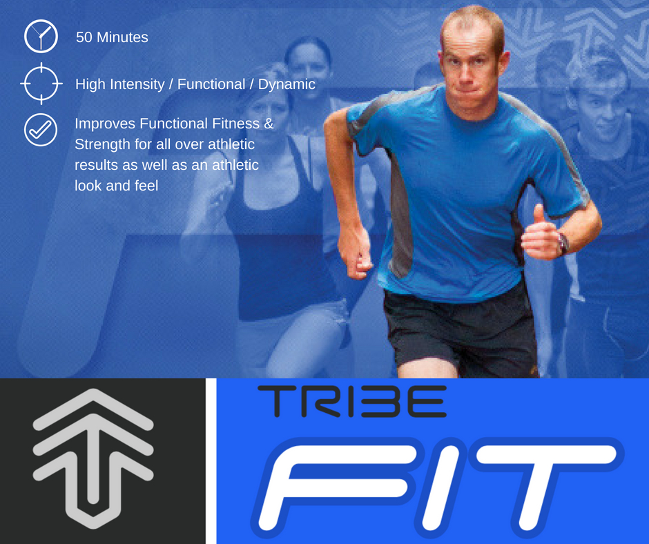 Engage in high intensity functional fitness designed to bring you to new levels of training with TribeFIT. This program will make you functionally fit by combining athletic aerobic movements with functional strength exercises that will have you looking and feeling amazingly fit