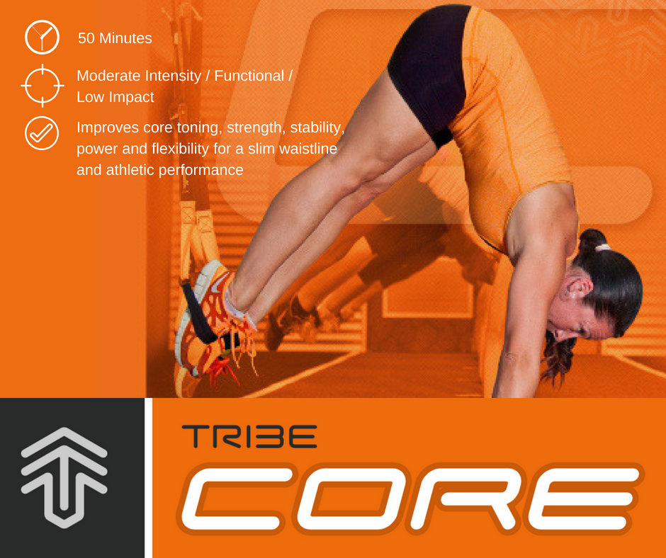 In TribeCORE experience intelligent training that is created to bring you new levels of strength, support and flexibility through your back, abs, pelvis and shoulders. In doing this you will experience structural longevity, pain free movement, a slimmer waistline and firm, strong abs.