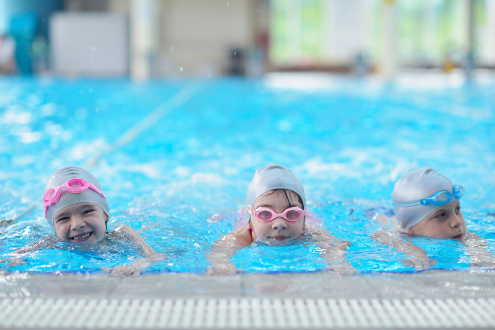 AFTER-SCHOOL SWIM LESSONS!   EIGHT, 45-MIN CLASSES EACH MONTH