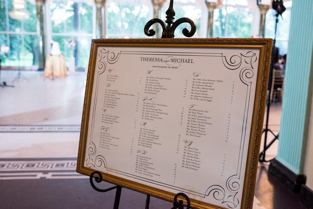 seating chart 101