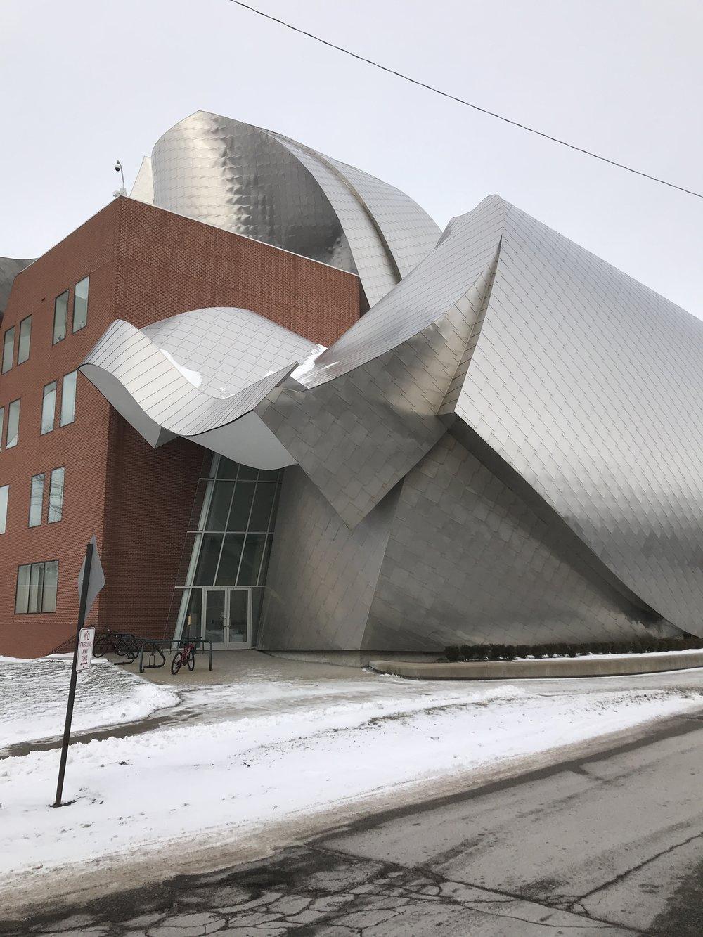 Weatherhead School of Management (designed by Frank Gerhy), Case Western Reserve University
