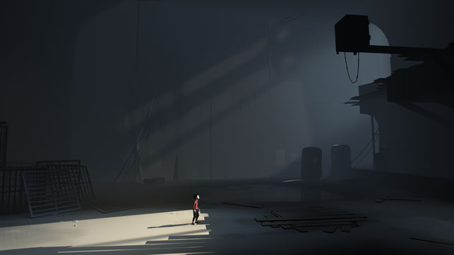 "A scene from Playdead's ""Inside"""