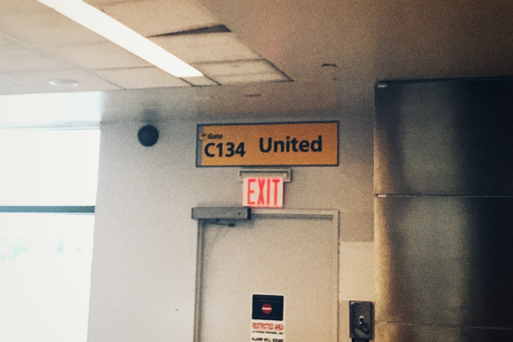 No, Not Gate 134!