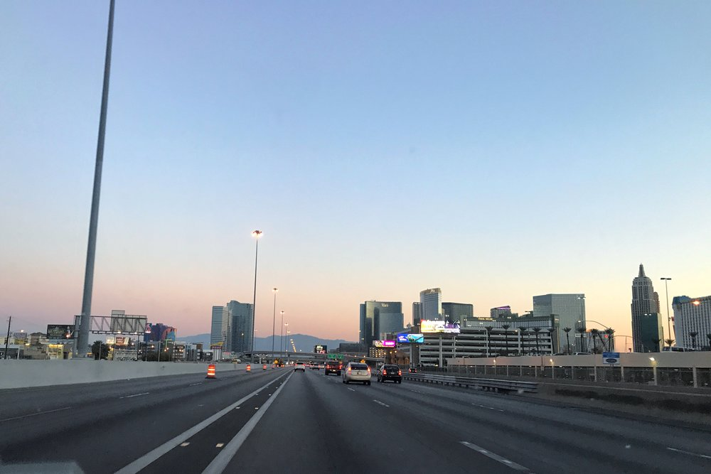 Las Vegas at Dawn