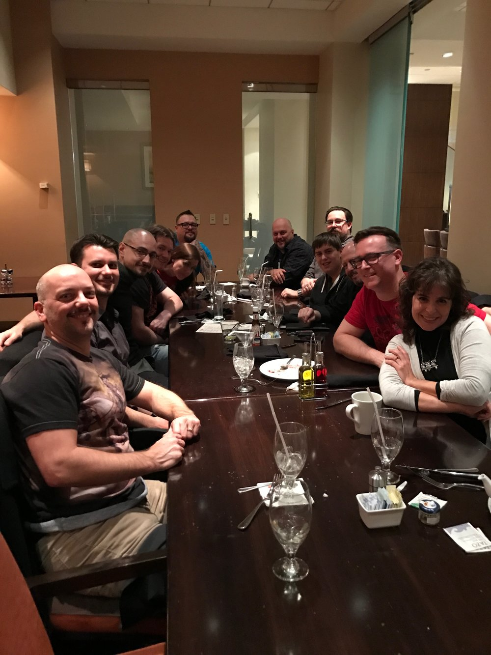 Artist Dinner at GP Milwaukee