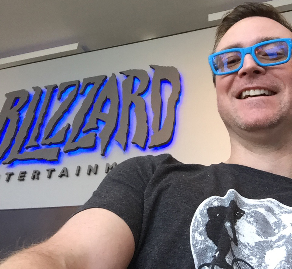 Visiting BLizzard HQ