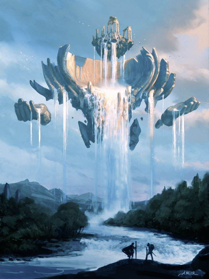 Elder Water Elemental | Aaron_Miller