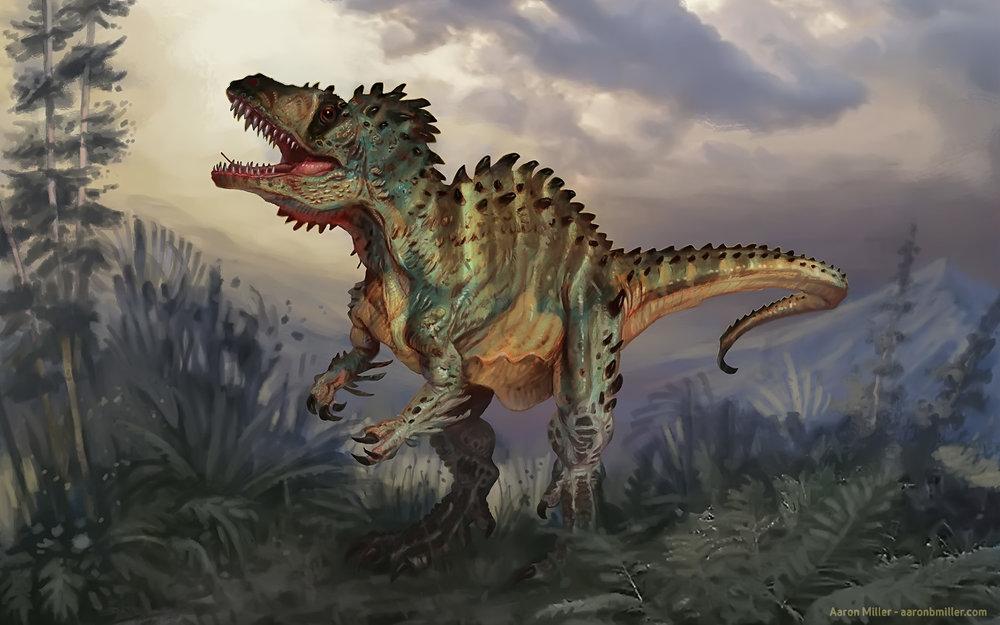 Acrocanthosaurus| Aaron Miller