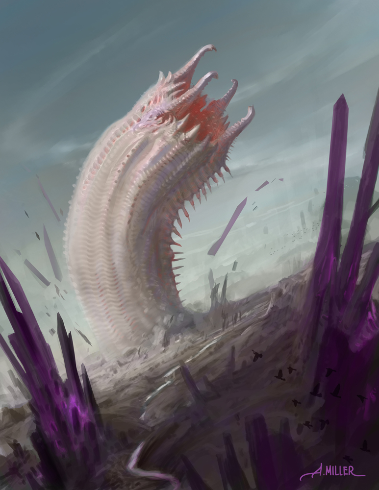 Wurm of the Thystine Desert