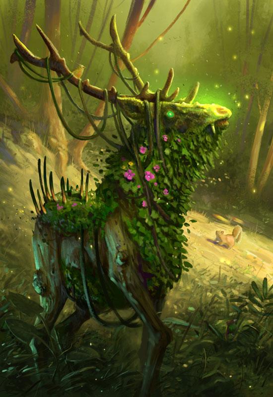 Elemental Elk