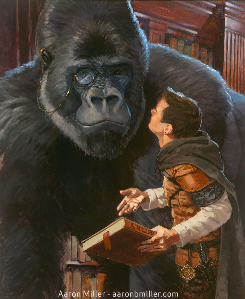 The Well Read Gorilla