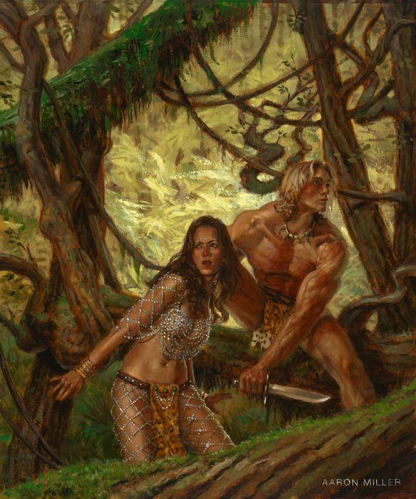 Tarzan and La of Opar