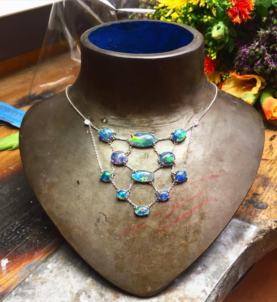 Opal Necklace - Benjamin Hawkins