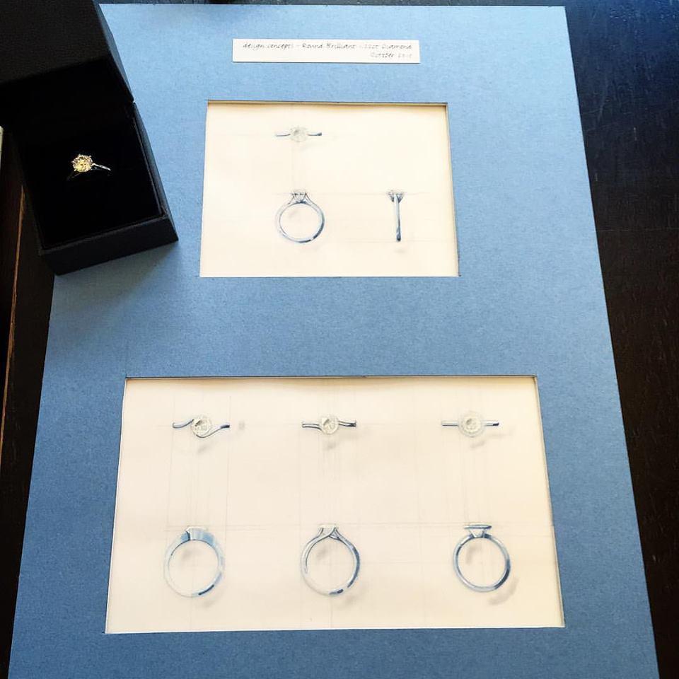 Bespoke Engagement Ring - Benjamin Hawkins