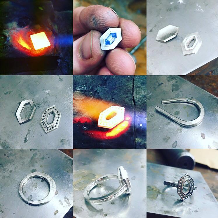 Making The Ring - Benjamin Hawkins