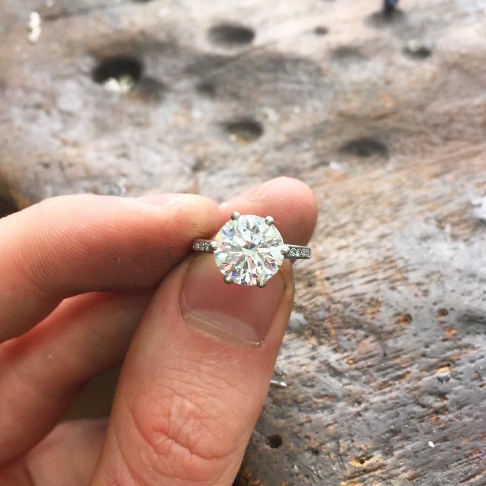 Diamond Engagement Ring - Benjamin Hawkins