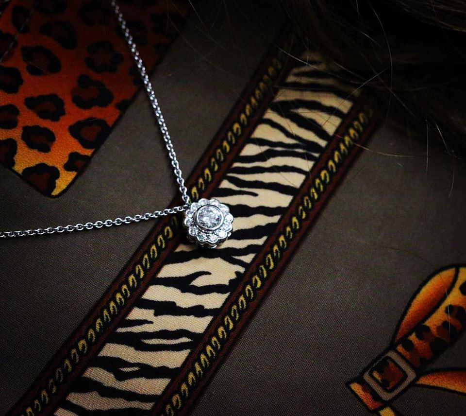 Diamond Cluster Pendant - Benjamin Hawkins
