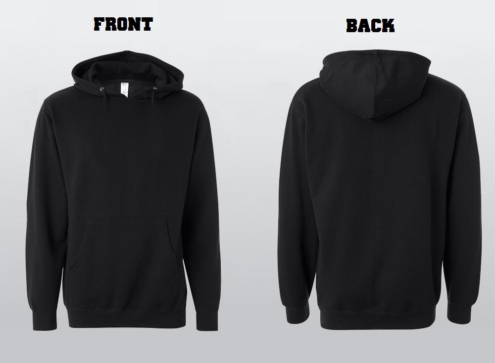 Adult Hooded Sweatshirt -
