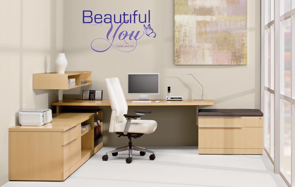 Beautiful You Wall Graphic
