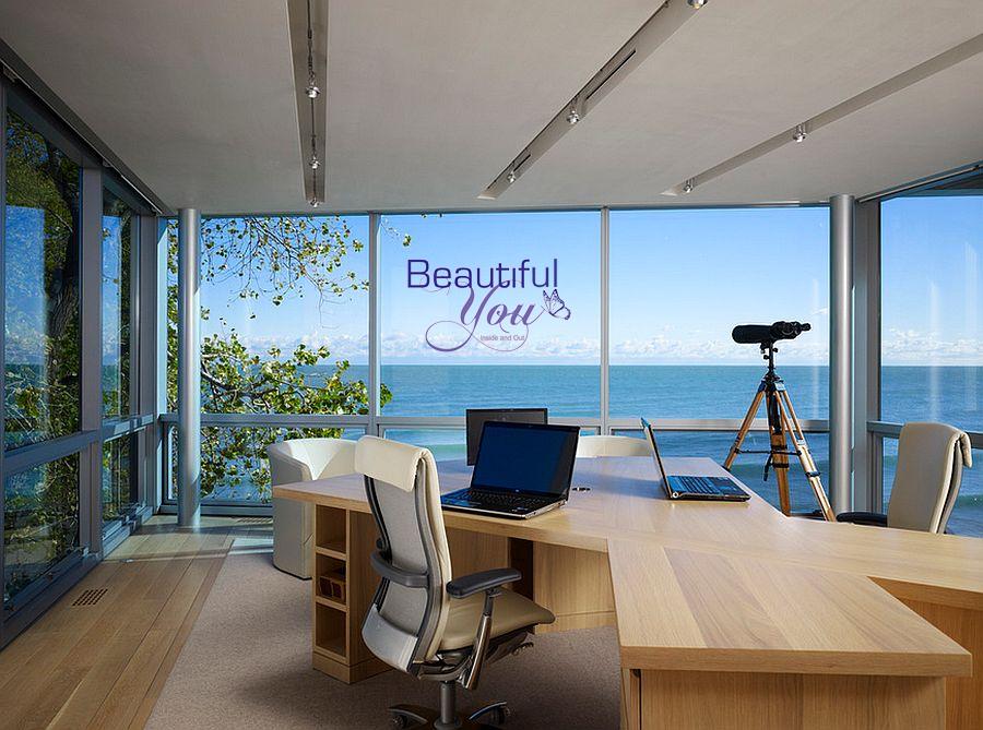Beautiful You Window Graphic